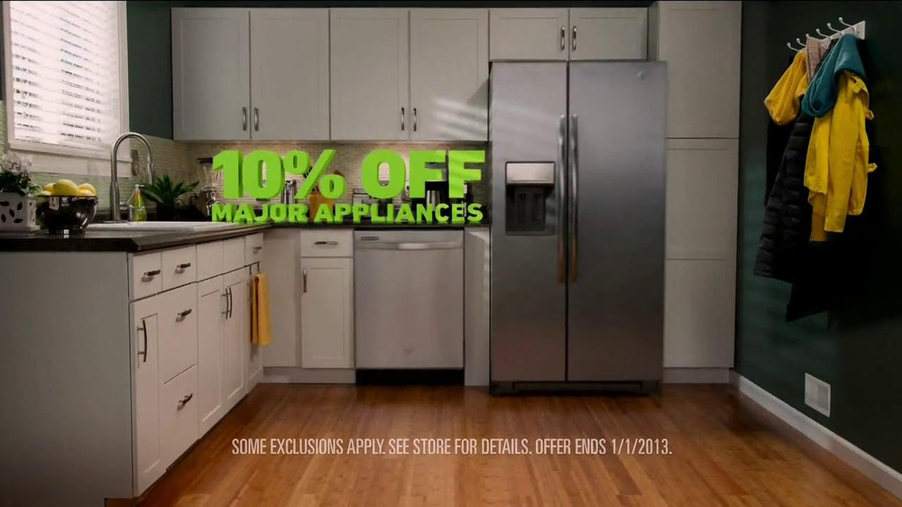 Lowe's Winter Savings TV Spot