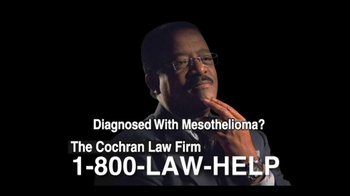 The Cochran Law Firm TV Spot, 'Mesothelioma'