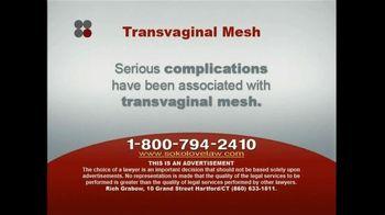 Sokolove Law TV Spot, 'Transvaginal Mesh'