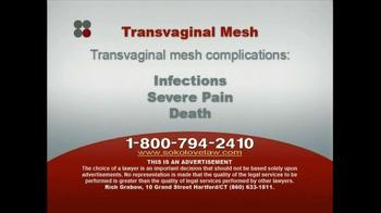 Sokolove Law TV Spot, 'Transvaginal Mesh' - Thumbnail 4