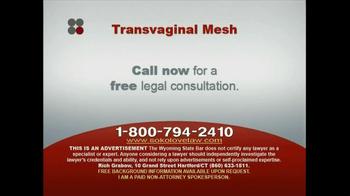 Sokolove Law TV Spot, 'Transvaginal Mesh' - Thumbnail 7