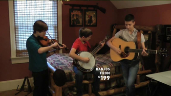 Guitar Center TV Spot, 'Hey, Santa: Banjo' - Thumbnail 3