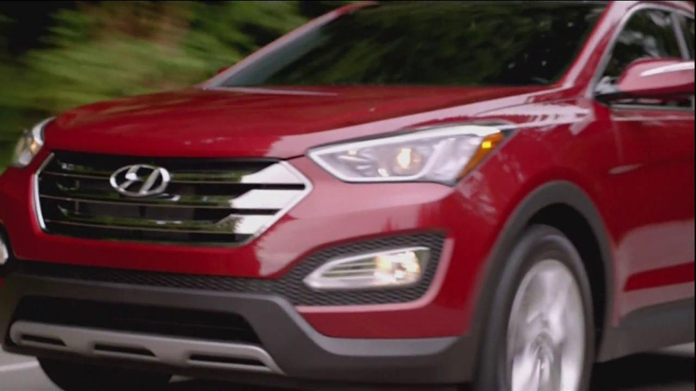 2013 Hyundai Santa Fe TV Commercial, 'Pass it On'