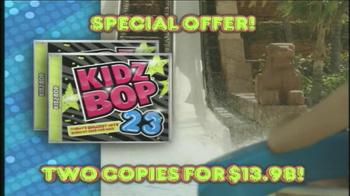 Kidz Bop 23 TV Spot - 539 commercial airings