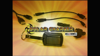 Bell + Howell Solar Charger TV Spot - Thumbnail 5