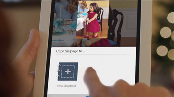 Nook HD TV Spot, 'Scrapbooking' - Thumbnail 4