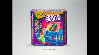 Crayola Crayon Maker TV Spot, 'Mix, Melt and Pour' - Thumbnail 8
