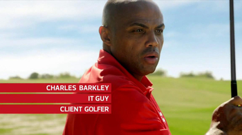 CDW TV Spot, 'Swing' Featuring Charles Barkley - Thumbnail 6