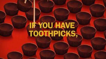 Reese's Miniatures TV Spot, 'Toothpicks' - Thumbnail 2