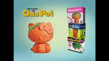 Chia Pet TV Spot, 'Gnome, Hello Kitty and Madagascar' - Thumbnail 9