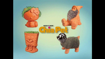 Chia Pet TV Spot, 'Gnome, Hello Kitty and Madagascar' - 473 commercial airings