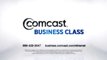 Comcast Business Class TV Spot 'Ethernet' - Thumbnail 8