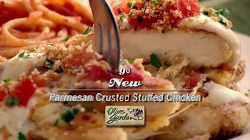 Olive Garden Parmesan Crusted Stuffed Chicken TV Spot - 415 commercial airings