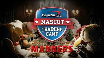 Capital One TV Spot, 'Mascot Training Camp: Manners' - Thumbnail 1