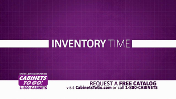 Cabinets To Go TV Spot, 'Inventory Time' - Thumbnail 3