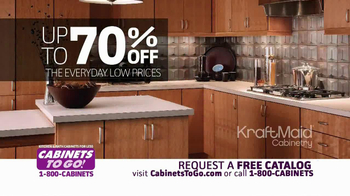 Cabinets To Go TV Spot, 'Inventory Time' - Thumbnail 4