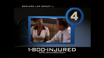 Bernard Law Group TV Spot, 'Reason 4' - Thumbnail 2