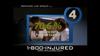 Bernard Law Group TV Spot, 'Reason 4' - Thumbnail 3