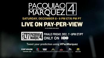 HBO Boxing TV Spot, 'Pacquiao vs. Marquez' - Thumbnail 10