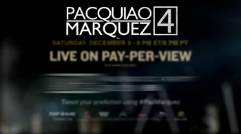 HBO Boxing TV Spot, 'Pacquiao vs. Marquez' - Thumbnail 8