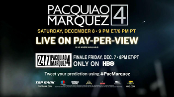 HBO Boxing TV Spot, 'Pacquiao vs. Marquez' - Thumbnail 9