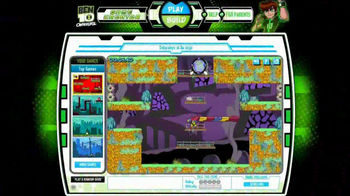Cartoon Network Web Check TV Spot, 'Ben 10 Game Creator'