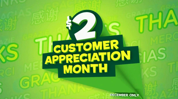 Subway $2 Subs TV Spot, 'Customer Appreciation' Feat. Brian Baumgartner - Thumbnail 1