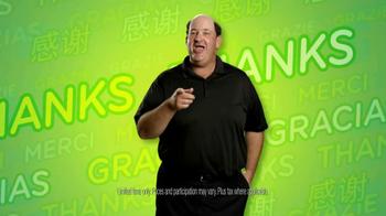 Subway $2 Subs TV Spot, 'Customer Appreciation' Feat. Brian Baumgartner - Thumbnail 4