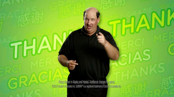 Subway $2 Subs TV Spot, 'Customer Appreciation' Feat. Brian Baumgartner - Thumbnail 6