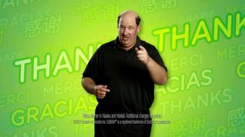 Subway $2 Subs TV Spot, 'Customer Appreciation' Feat. Brian Baumgartner - Thumbnail 6