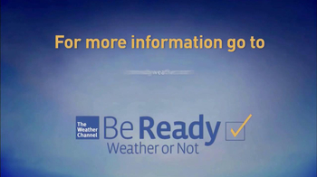 The Weather Channel TV Spot, 'Be Ready' - Thumbnail 7