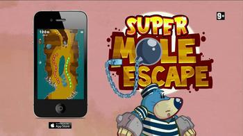 Super Mole Escape TV Spot, 'Adult Swim: Free App of the Week' - Thumbnail 7