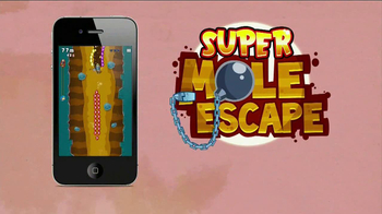 Super Mole Escape TV Spot, 'Adult Swim: Free App of the Week' - Thumbnail 6