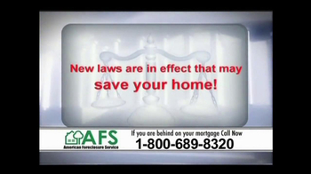 American Foreclosure Service TV Spot 'Mortage Payments'  - Thumbnail 5