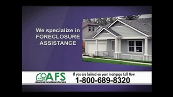 American Foreclosure Service TV Spot 'Mortage Payments'