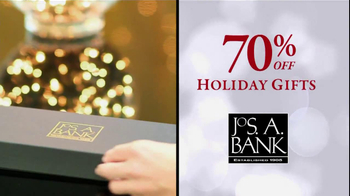 JoS. A. Bank TV Spot, '70% Off: Holiday GIfts' - 89 commercial airings