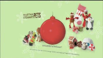 PetSmart Countdown to Christmas Sale TV Spot, 'Martha Stewart Pets' - Thumbnail 5