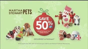PetSmart Countdown to Christmas Sale TV Spot, 'Martha Stewart Pets' - Thumbnail 6