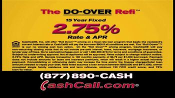 Cash Call Do-Over Refi TV Spot, 'Curtain: 2.75%' - Thumbnail 6