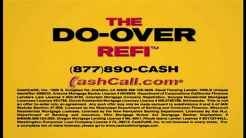 Cash Call Do-Over Refi TV Spot, 'Curtain: 2.75%' - Thumbnail 1