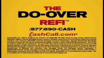 Cash Call Do-Over Refi TV Spot, 'Curtain: 2.75%' - Thumbnail 2