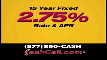 Cash Call Do-Over Refi TV Spot, 'Curtain: 2.75%'