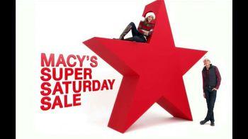Macy's Super Saturday Sale TV Spot, '12/2012' - 97 commercial airings