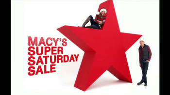 Macy's Super Saturday Sale TV Spot, '12/2012' - 97 commercial airings