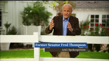 American Advisors Group TV Spot, 'Fence'  Featuring  Fred Thompson - Thumbnail 2