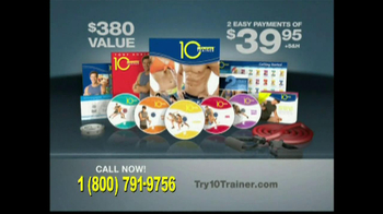 10 Minute Trainer TV Spot, 'In Shape for $10'