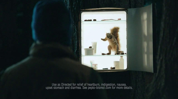 Pepto-Bismol To-Go TV Spot, 'Squirrel' - Thumbnail 7
