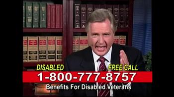 Lawyers Group TV Spot, 'Disabled Veterans Benefits' - Thumbnail 9