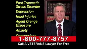 Lawyers Group TV Spot, 'Disabled Veterans Benefits' - Thumbnail 4