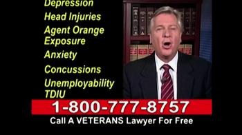Lawyers Group TV Spot, 'Disabled Veterans Benefits' - Thumbnail 6